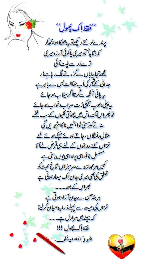 Faqat Ik Phool-Wordpress copy