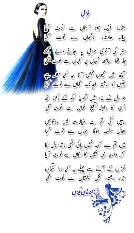 Sitara eik chalo-Farzana Naina-Wordpress