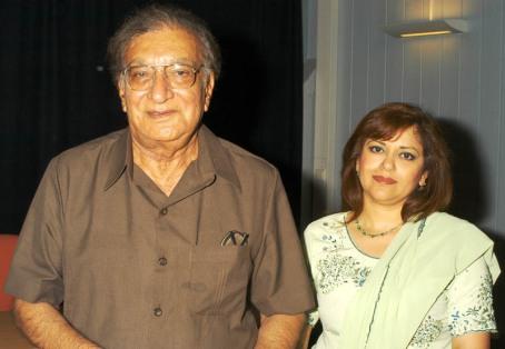 Ahmed Faraz and Farzana Naina in Oslo