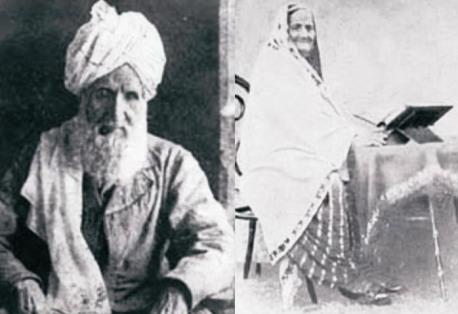 Parents of Allama Iqbal