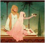 Chughtai Painting 21