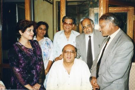 Amjad Islam, Anwer Masood, Farzana Khan, Ashore Kazmi, Mr.Mughal, Shabana Kazmi