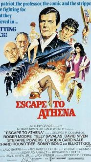 Roger Moore Escape to Athena