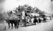 Karachi tram 1a