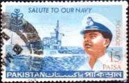 Pakistani Stamp Navy