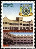Pakistani Stamp St Patrick high school