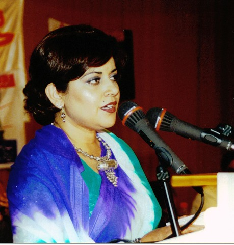 Farzaba Naina in Germany Mushaira