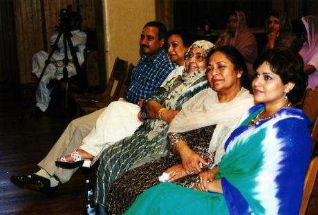 Farzaba Naina, Naseem Akhtar, Kaukab Akhtar, Akhtar Sahab and Tahira Safi in Germany Mushaira