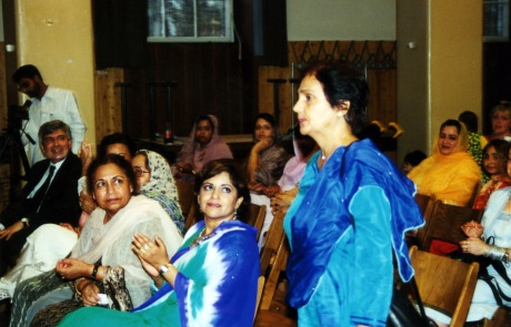 Farzaba Naina, Surraiya Shahab and Tahira Safi in Germany Mushaira